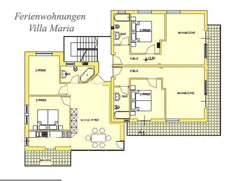 piantina degli appartamenti