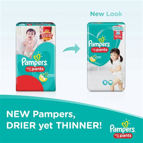 Pampers Baby Dry Diaper Pants Small 24s X 2 Packs Shopee