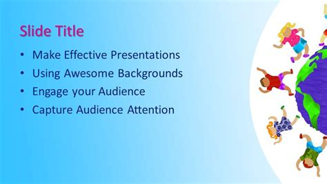 Free Kids Education PowerPoint Template - Free PowerPoint ...