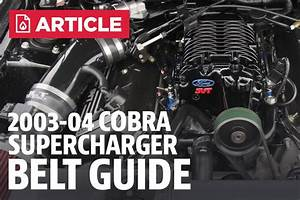 03-04 Cobra Supercharger Belt Chart
