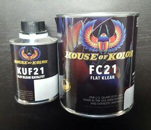 house of kolor flat clear kit fc21 clearcoat ebay