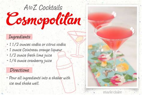 26 easy to make drinks a z style countdown to happy