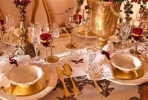 Table De Noel Traditionnelle : le dor la plus tendance des couleurs de no l ~ Melissatoandfro.com Idées de Décoration