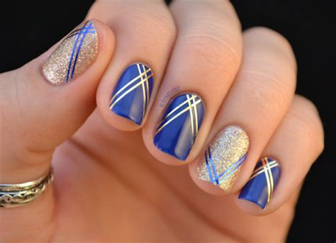15 Beautiful Royal Blue Nail Designs You Can Try To Copy