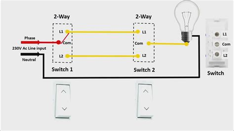 Two Way Switch Connection Engilsh Universal Clab