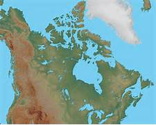 Canada Physical Map - Canada Political Map  Canada Physical Map