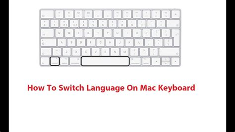 switch language  mac keyboard   youtube