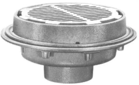 josam floor drain strainer js32200 josam 32200 floor drain shallow sump 12 top by