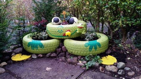 Garten Gestalten Mit Autoreifen by 59 Gartengestaltung Ideen F 252 R Ihre Kinder