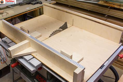 tischkreissäge mit schiebeschlitten kreiss 228 ge selber bauen cluber