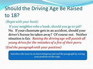 Reflective Essay On High School Driving Age Should Be Raised To  Essay Symbolic Interactionism Essay Thesis For Persuasive Essay also What Is A Thesis In An Essay Driving Age Essay Mla Format In Essay Lowering Driving Age Essay  English Essays