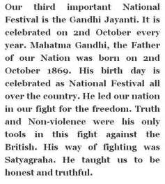 On Mahatma Gandhi In English Essay On Mahatma Gandhi In English