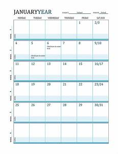 pacing calendar template for teachers - lesson plan calendar