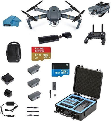 dji mavic pro fly  combo portable collapsible mini
