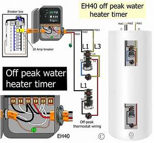 How To Wire Water Heater Thermostat In Hot Water Tank Wiring Diagram
