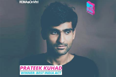 Prateek Kuhad Bags 'best Indian Act' At Ema '16