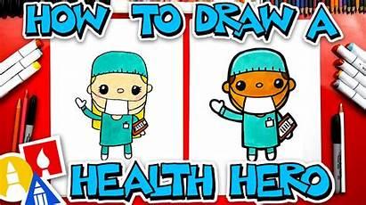 Draw Health Heroes Hub