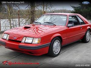 1986 Ford Mustang SVO for Sale | ClassicCars.com | CC-1192877