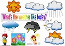 What's the weather like today? - Interactive worksheet