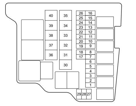 2014 Mazda 6 Fuse Box Diagram by Mazda 2 2012 Fuse Box Diagram Auto Genius