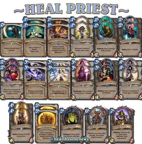 #hearthstone Heal Priest  Hearthstone Guide Pinterest