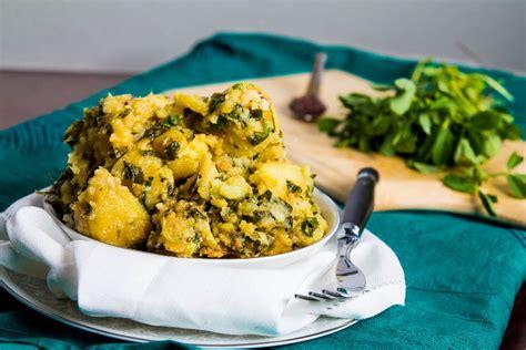 Sweet Potato Fenugreek Saute Shakariya Methi Nu Shaak