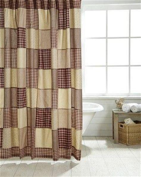 primitive shower curtains cheston shower curtain primitive quilt shop