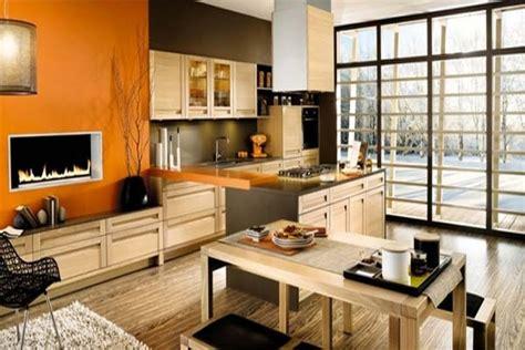 orange kitchen color scheme uzumaki interior design kitchen with orange design schemes 3762