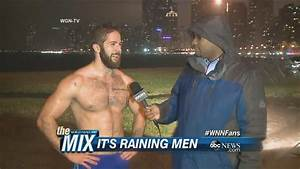 Shirtless Man in The Rain | ABC News - YouTube