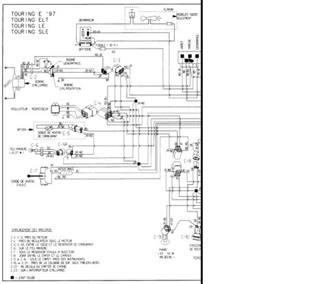 Skandic Wiring Diagram by 1995 Touring E No Brake Light Light Or Dash Lights