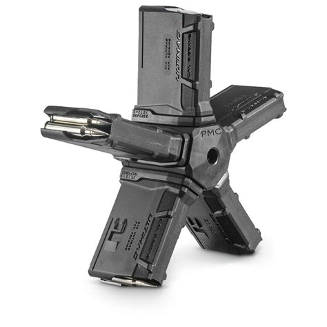 Pentagon Ar15 Coupler, 223 Caliber Magazine, 50 Rounds