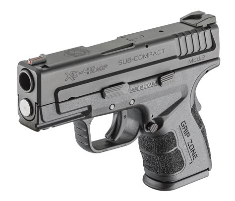 "Xd Mod2 33"" Subcompact 45acp Concealed Carry Pistol"