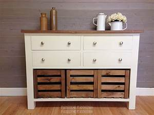 Solid Pine Sideboards For Sale 4ft Rustic Solid Pine