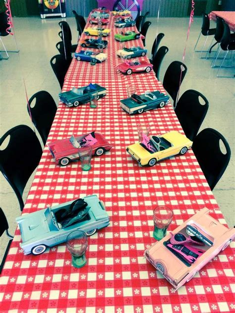 diner soda shop retro birthday party birthday party