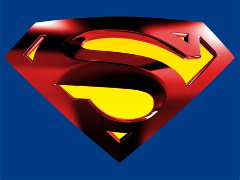 Kaos Superman Logo Blue superman logo with blue bg by kftapout on deviantart
