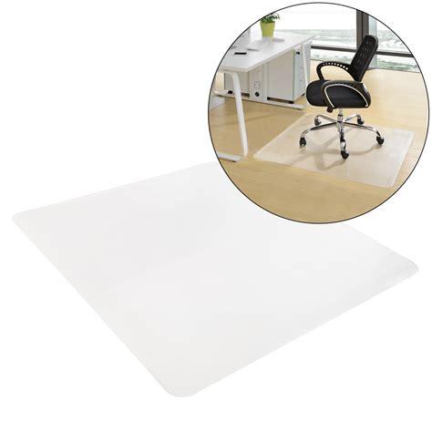 protection chaise neu haus tapis de sol 90 x 90 cm chaise bureau ton