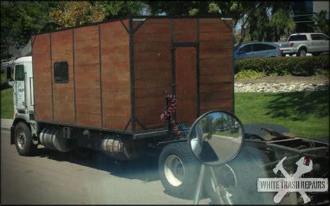 homemade truck cab diy semi truck sleeper whitetrashrepairs com