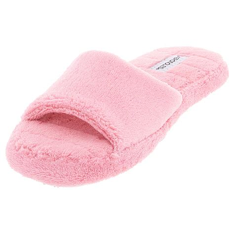 Bedroom Slippers Womens by Pink Aerosole Open Toe Slippers For Women Pink Slippers