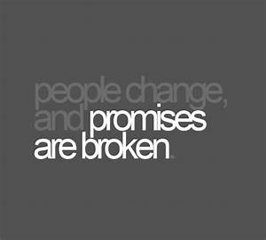 broken promise quotes and sayings | Quotes on Broken ...