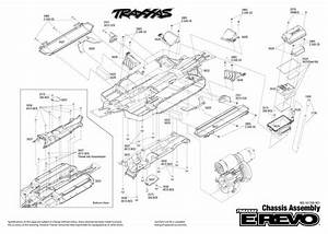 Traxxas E Revo Parts Diagram