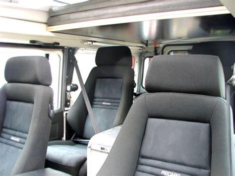 siege recaro 4x4 rr concept siège recaro semi bacquet pour land rover