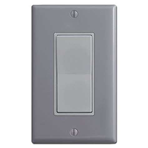 gray electrical outlets light switches for grey wall