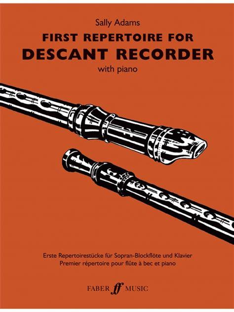 sheet   repertoire  descant recorder