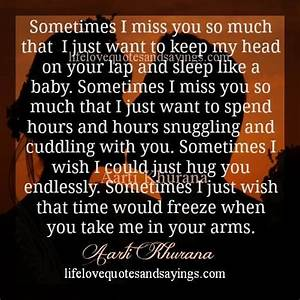 I Miss My Baby Quotes. QuotesGram