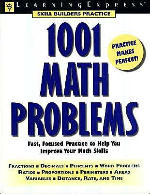 1001 math problems fast focused practice that improves