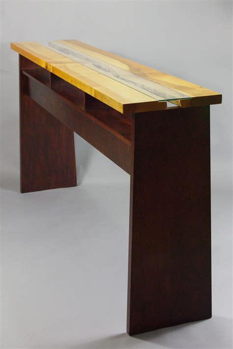 edge maple stand  desk rugged cross fine art