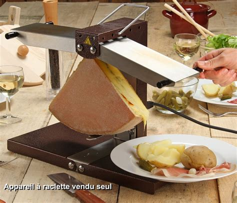 appareil 224 raclette 2 res tom press