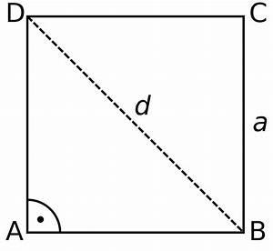 Seitenlänge Quadrat Berechnen : quadrat wikipedia ~ Themetempest.com Abrechnung