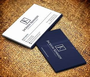 Serious, Professional, Investment Business Card Design for ...