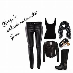 """""""Clary's Shadowhunter Gear"""" by officialhung on Polyvore"""